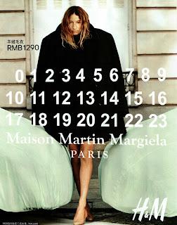 Maison Martin Margiela for H&M, otoño invierno 2012