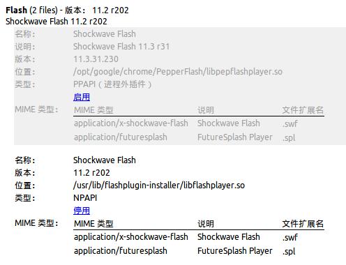 Ubuntu下Chrome的Flash问题