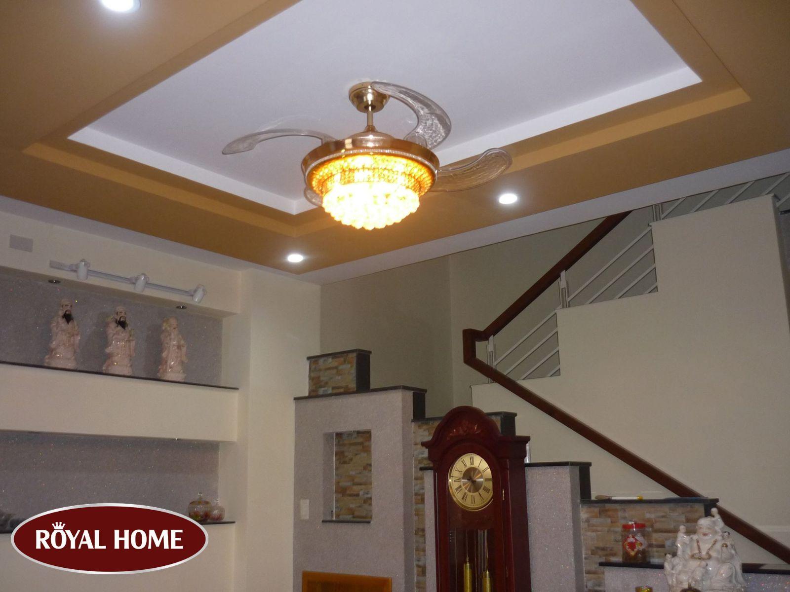 Royal Home – Địa chỉ cung cấp quạt trần sài gòn chất lượng siêu việt