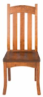 Custom Chair in Antique Cherry