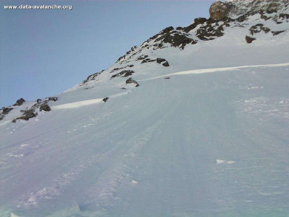 Avalanche Vanoise, secteur Sommet de Bellecôte, Face Nord - Photo 1