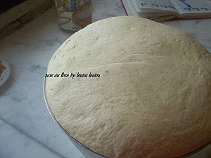 Pâte au lait fermenté préparation 4