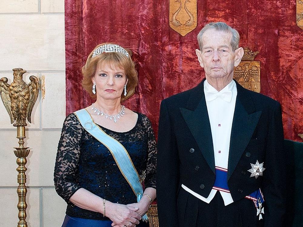 Regele Mihai I al României şi Principesa Moştenitoare Margareta a României