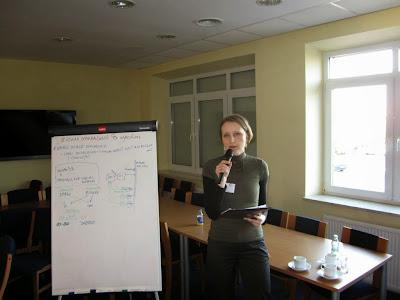 Biometan - Biomaster. Perspektywy wtłaczania biometanu do gazociągów przedstawiła Pani Barbara Smerkowska (PIMOT)