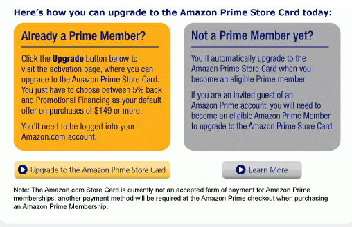 Amazon Prime Store Card   NeoGAF
