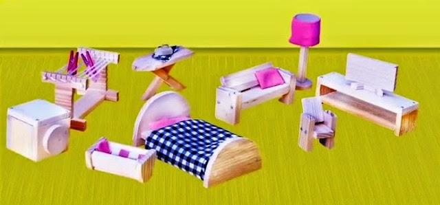 Trẻ sẽ có trải nghiệm thực sự với bộ đồ chơi Thợ mộc làm đồ nội thất SES dành cho bé gái