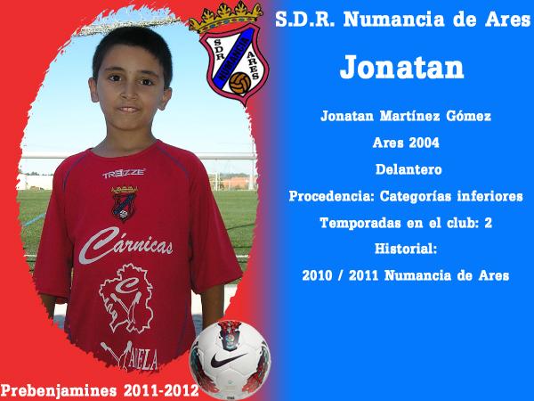 ADR Numancia de Ares. Prebenxamíns 2011-2012. JONATAN.