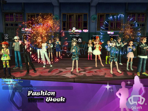 Audition cập nhật tính năng mới Fashion Week 6