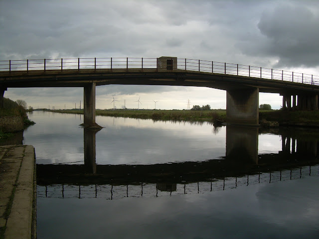 Bridge over the Nene, just before Peterborough