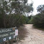 Entering Garigal National Park (120916)