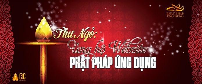 Thư Ngỏ Ủng Hộ - Tài Trợ Website Phật Pháp Ứng Dụng