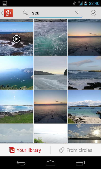 Google+ Photo Search
