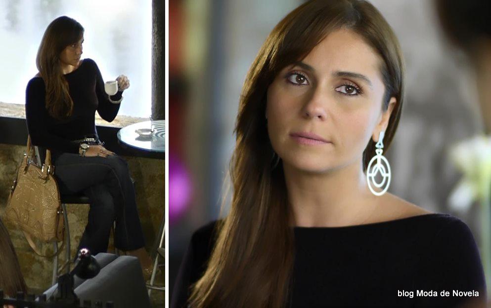 moda da novela Em Família - look da Clara dia 26 de maio