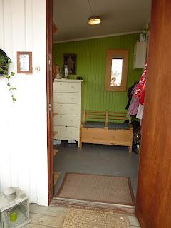 På å sett inn møbler jeg synes er fine men som kan oppbevare og