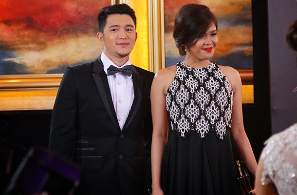 8th Star Magic Ball Jason Francisco and Melai Cantiveros
