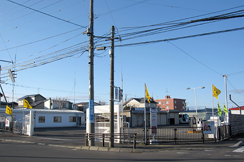 北海道バス 湖陵高校前 太平洋交通車庫
