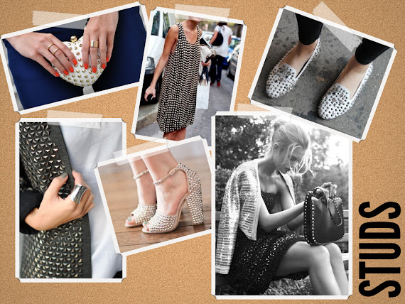 Studs Fashion Trend Pinterest Studded purse Studded shoes studded sweater