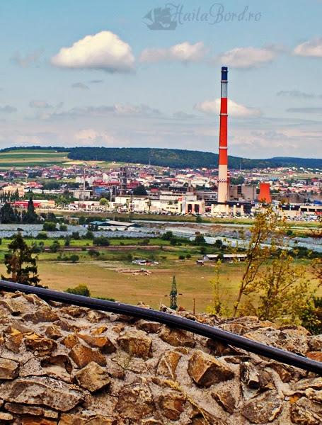 panorama cetatea suceava iulie 2013
