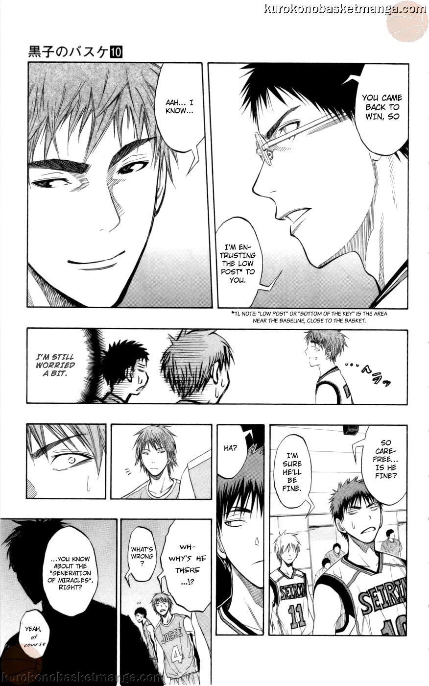 Kuroko no Basket Manga Chapter 81 - Image 21