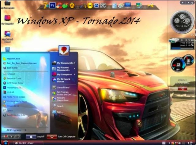Windows XP Tornado v1.2 [Preactivado] [32Bits] [2014] [MULTI]