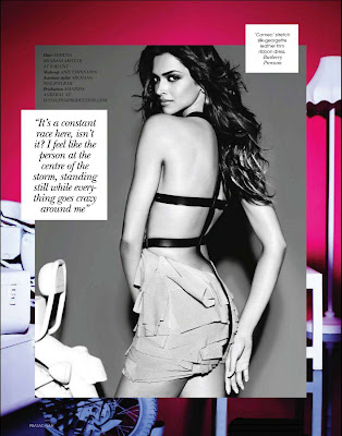 Deepika Padukone on Vogue Magazine Cover - February 2011