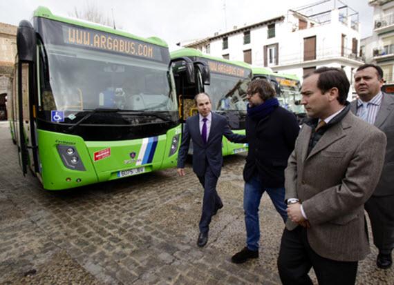 Nuevos autobuses interurbanos de GNC para líneas 312 y L1 de Arganda del Rey