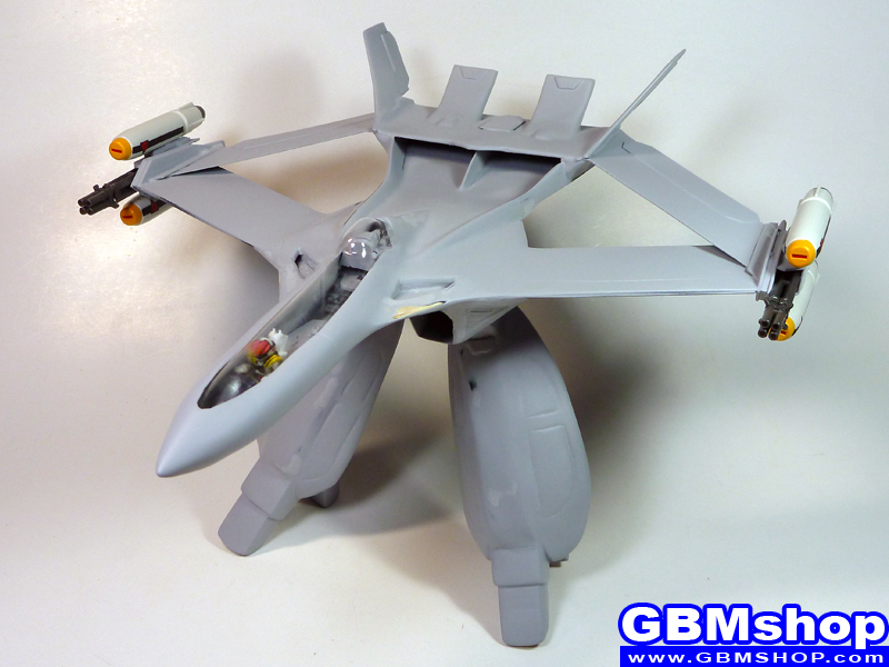 Work in progress BP-09 Macross GBM custom