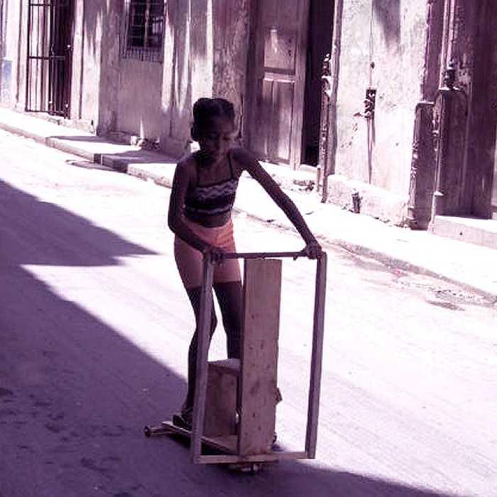 trottinette à Cuba