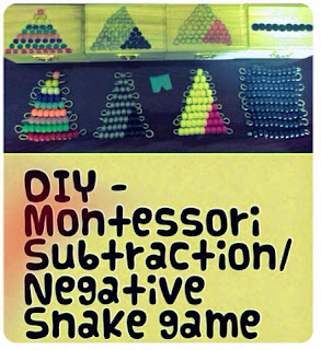 DIY Montessori Snake Game by Jennifer from Naniheart