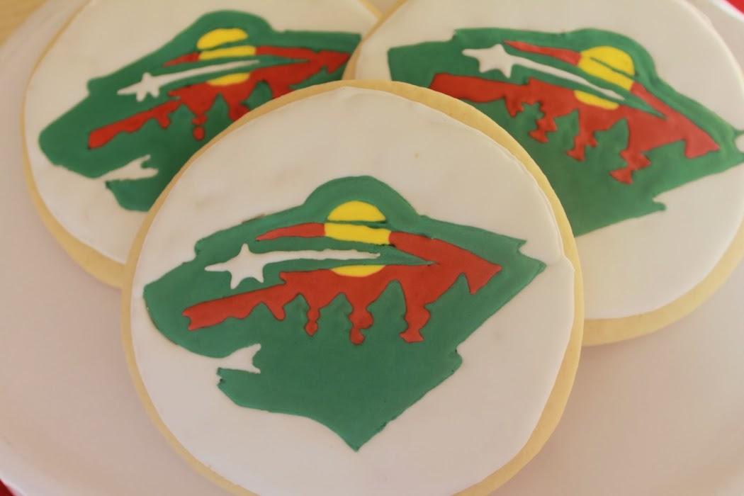 Minnesota Wild Cookies