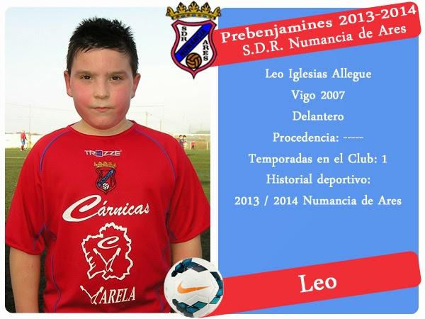 ADR Numancia de Ares. Leo