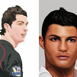 vector dan vexel c Ronaldo