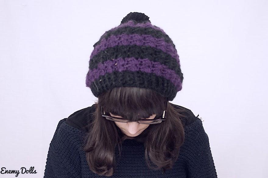 Patrón gorro crochet gratuito