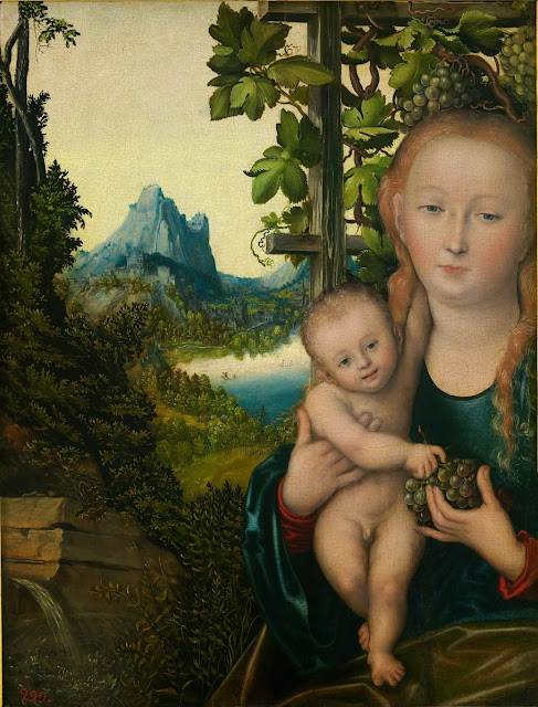Lucas Cranach the Elder - Madonna mit Kind (ca.1520)