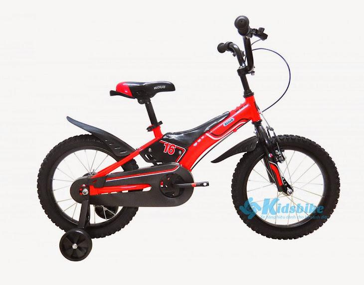 Xe đạp Stitch Police màu đỏ