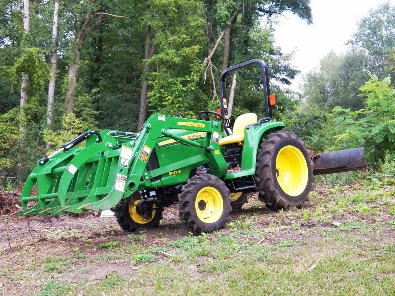 Deere 3032e and Wallenstein FX65 | Arboristsite com