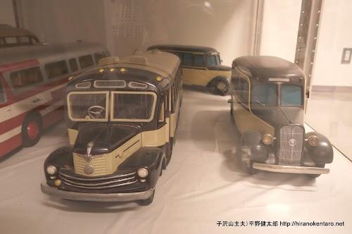 展示されてた車の模型