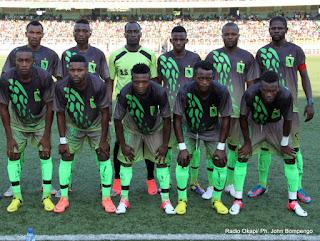 L'AS-V Club le 27/10/2012 au stade des martyrs à Kinshasa, lors du match contre DCMP, score: 1-0. Radio Okapi/ Ph. John Bompengo