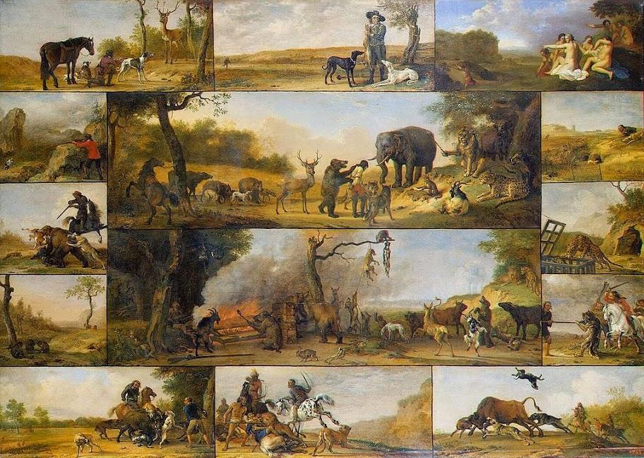 Paulus Potter - Punishment of a Hunter