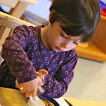 LePort Montessori Preschool Toddler Program Irvine Spectrum - girl serving herself, snack time
