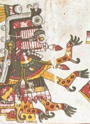 Goddess Itzpapalotl Image
