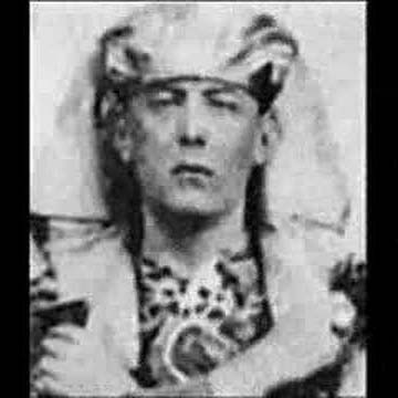 Aliester Crowley Image