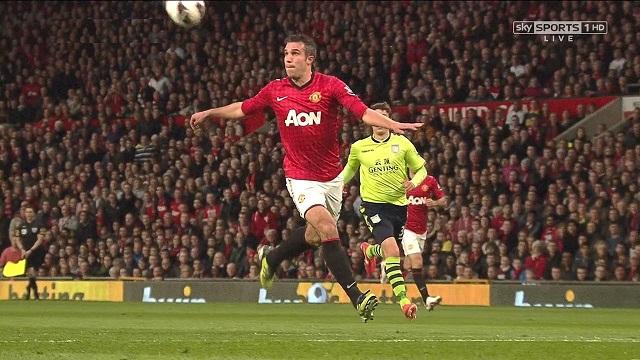 Robin van Persie, Manchester United - Aston Villa
