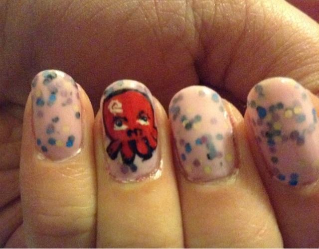 just skin bones and nails awkward octopus