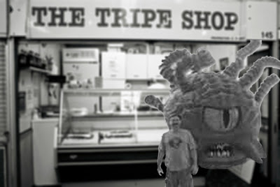 Geoff at the Tripe Shop