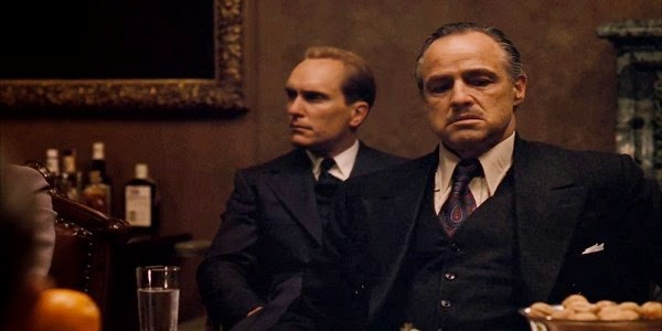 Screen Shot Of Hollywood Movie The Godfather (1972) In Hindi English Full Movie Free Download And Watch Online at Alldownloads4u.Com