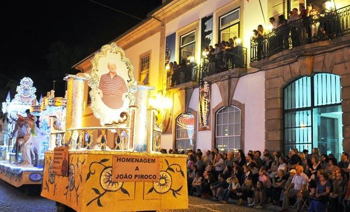 """""""Marcha Luminosa"""" e """"Batalha das Flores"""" em Lamego"""