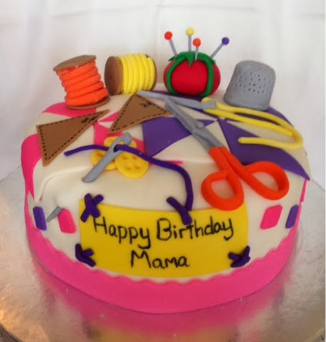 Cakes by Amy: Happy Birthday Mama Cake!