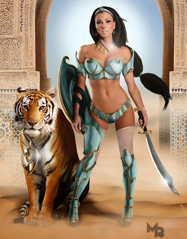 Sexy Warrior Princesses 5