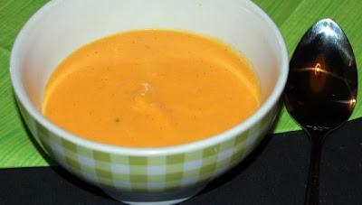 Veloutéde butternut à la vanille - recette indexée dans les Entrées